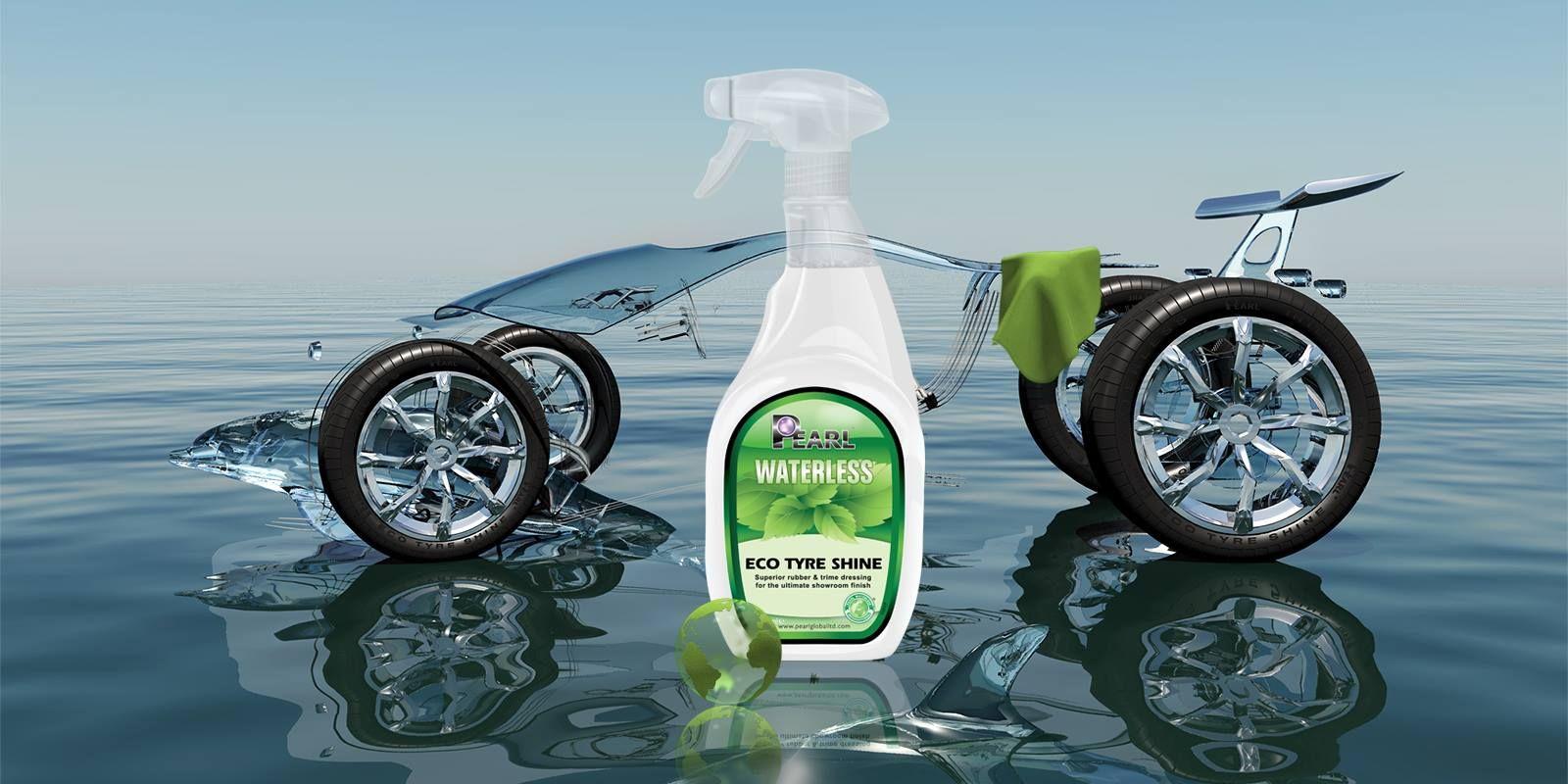 Eco Tyre Shine Tyre shine, Waterless car wash, Car wash