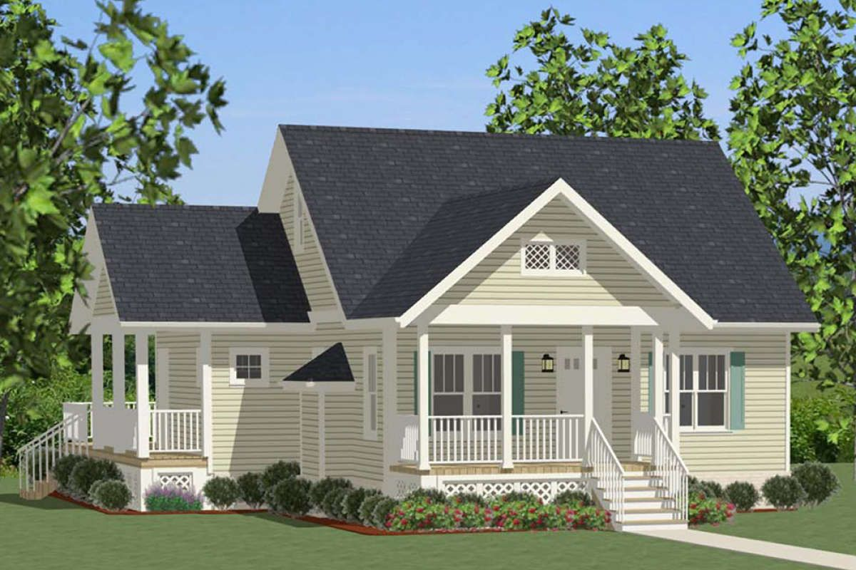 Cottage House Plan 6849