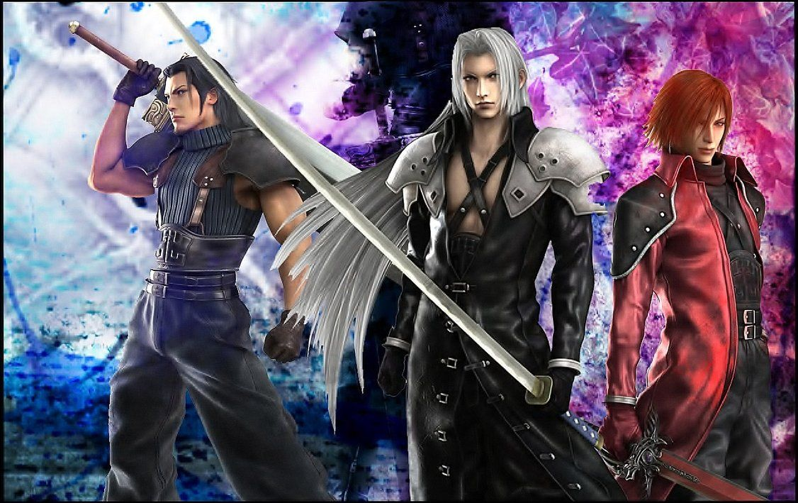 Genesis, Angeal, and Sephiroth Final fantasy vii, Final