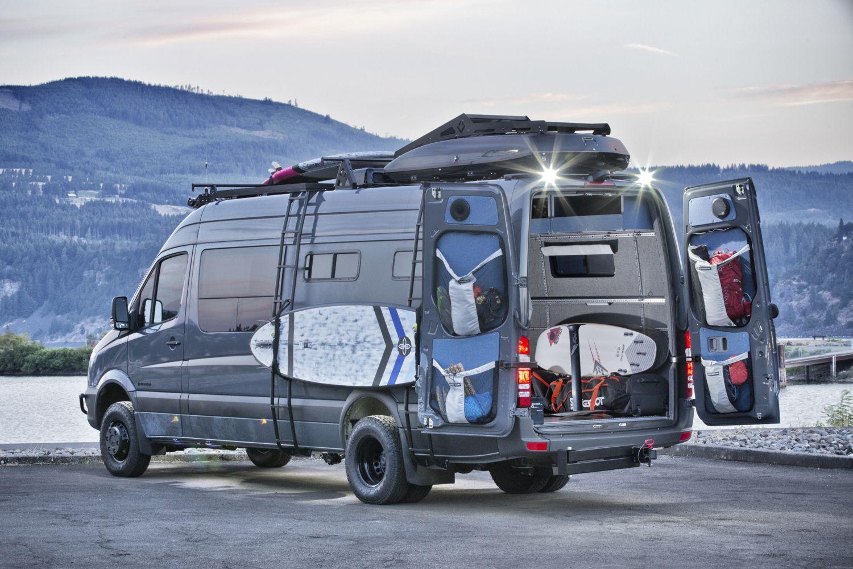 Off Grid 4x4 Mercedes Benz Sprinter 170 Ext Van Conversion