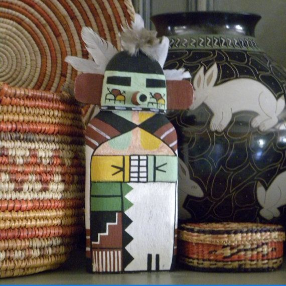 Hopi Kachina Katsina Early Morning Signed by SteelGoatStudio