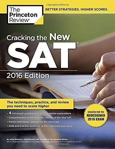 Download free Cracking the New SAT with 4 Practice Tests: Created