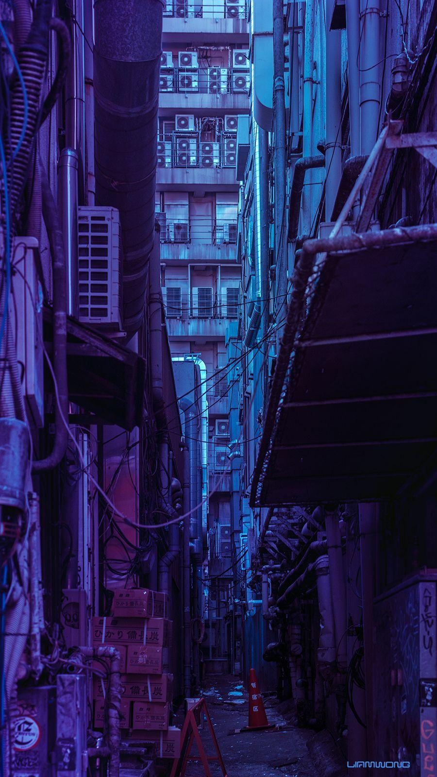 Tokyo back-alley [OC] [900*1600]