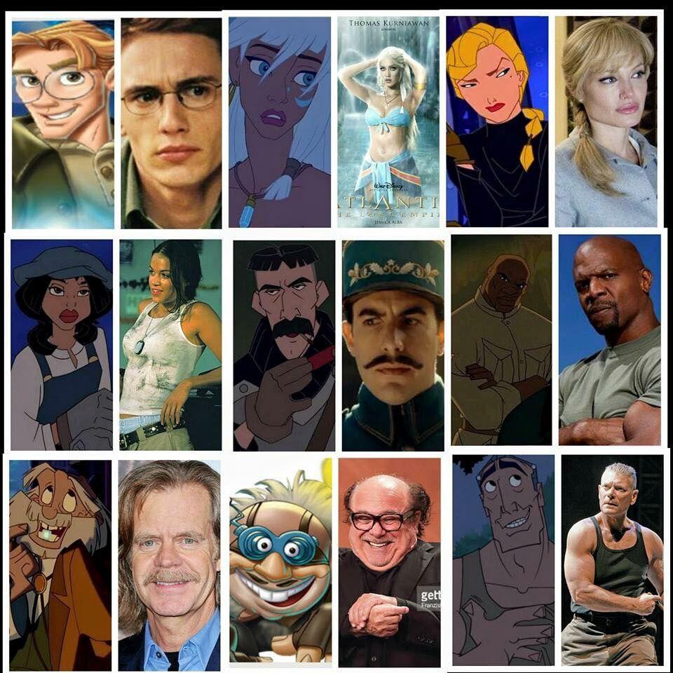 Disney S Atlantis The Lost Empire Fan Made Casting Choices Um Yass Atlantis The Lost Empire Disney Live Action Movies Disney Memes