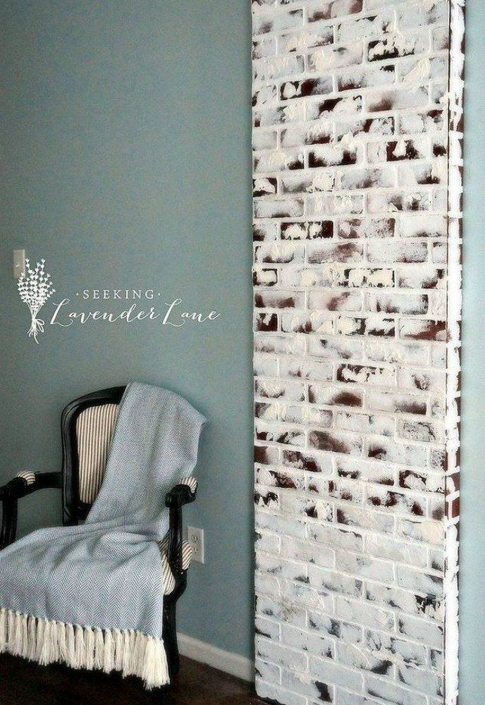 11 Awesome Brick Paneling Ideas Everyone Is Copying Faux Brick Walls Faux Brick Panels Faux Brick