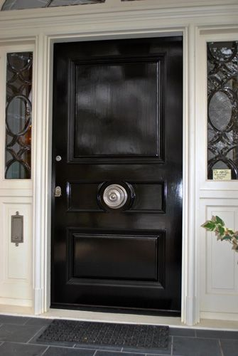 Centered Doorknobs / Embrace The Euro Style Of A Centered Doorknob For