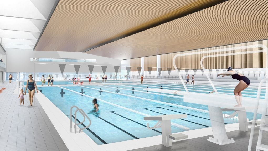 Designs Released For Orillia S New Rec Centre Swimming Pools
