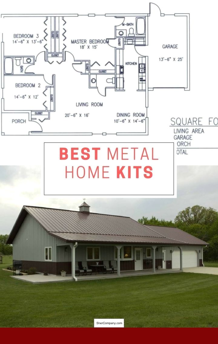 Metal Building Homes Kit and photos of Metal Building Home ...
