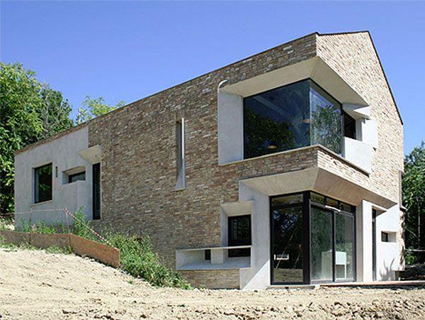 Imagen de ventanas modernas de esquina (27) casa Pinterest