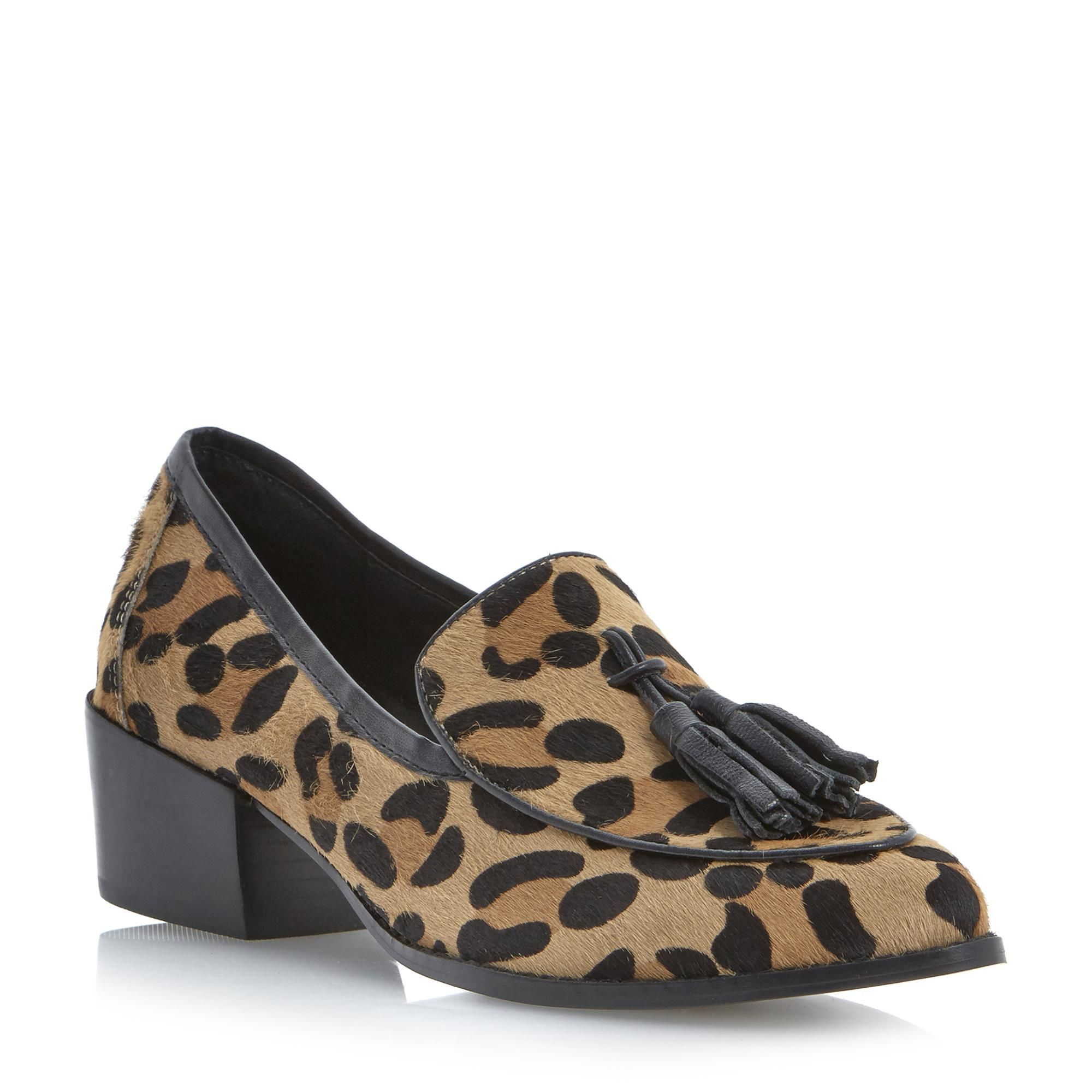 f5d52834580 STEVE MADDEN TEATIME - Pony Tassel Loafer - leopard | Dune Shoes ...