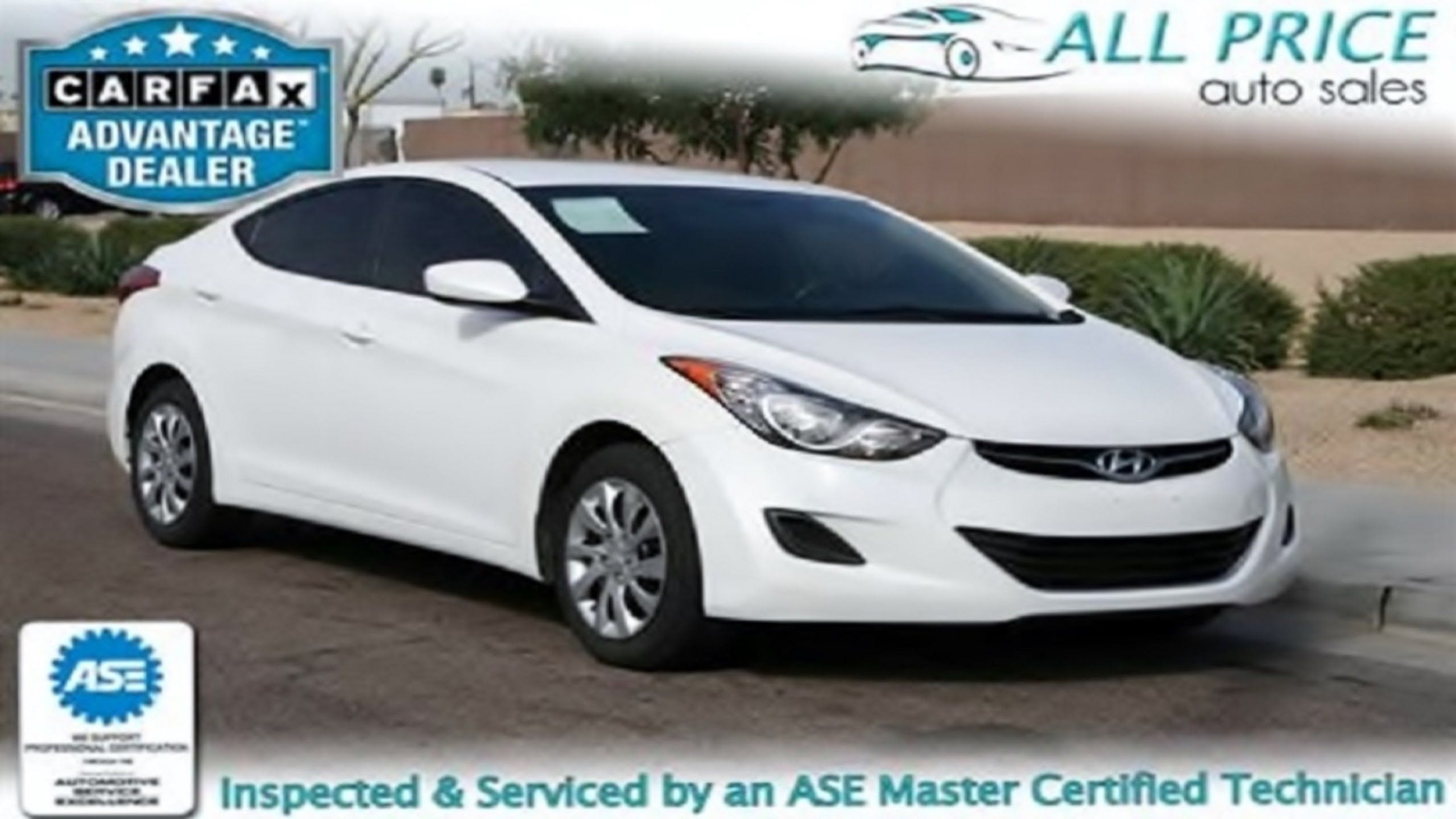 Used Cars For Sale In Phoenix Az 2012 Hyundai Elantra All Price