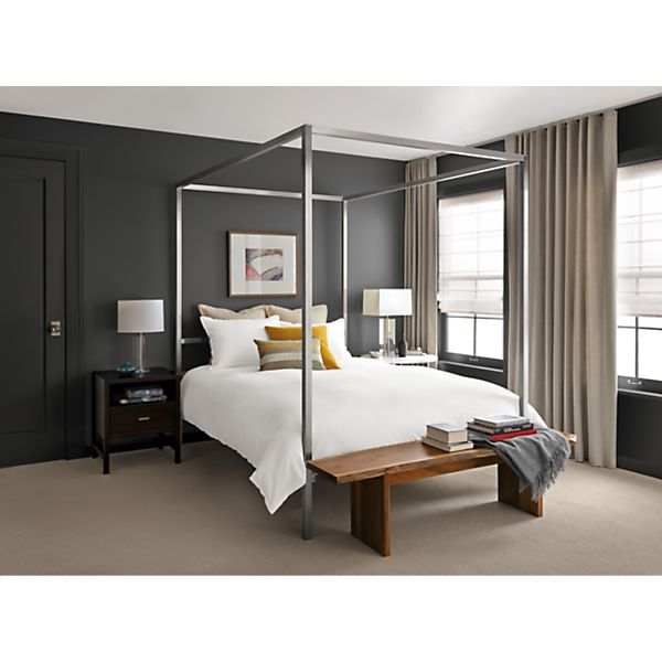 Canopy Bed Modern portica canopy bed | steel canopy, modern bedroom furniture and canopy