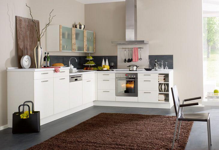 Küchengestaltung Farbe_Brauntöne Küche Pinterest - magnolia hochglanz k che