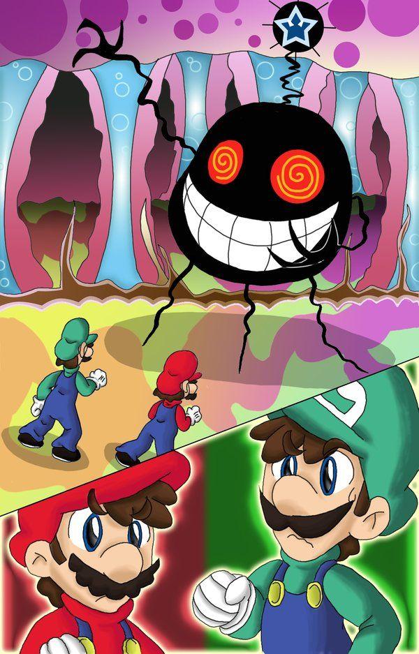 Mario And Luigi Rpg 3 Fb By Poke Yuffie Deviantart Com On
