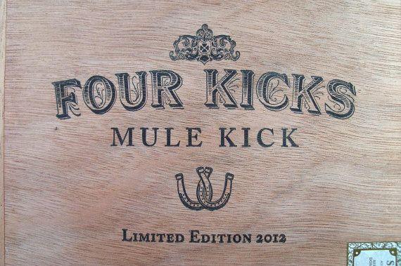 Wood Box Treasure Storage System Four Kicks by IndustrialPlanet, $8.50