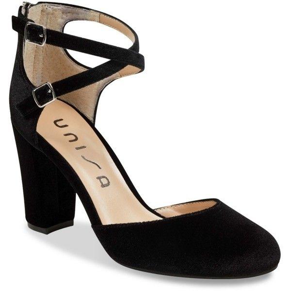 bd29a66ed71 Unisa Pearci Velvet Pump Women s Shoes