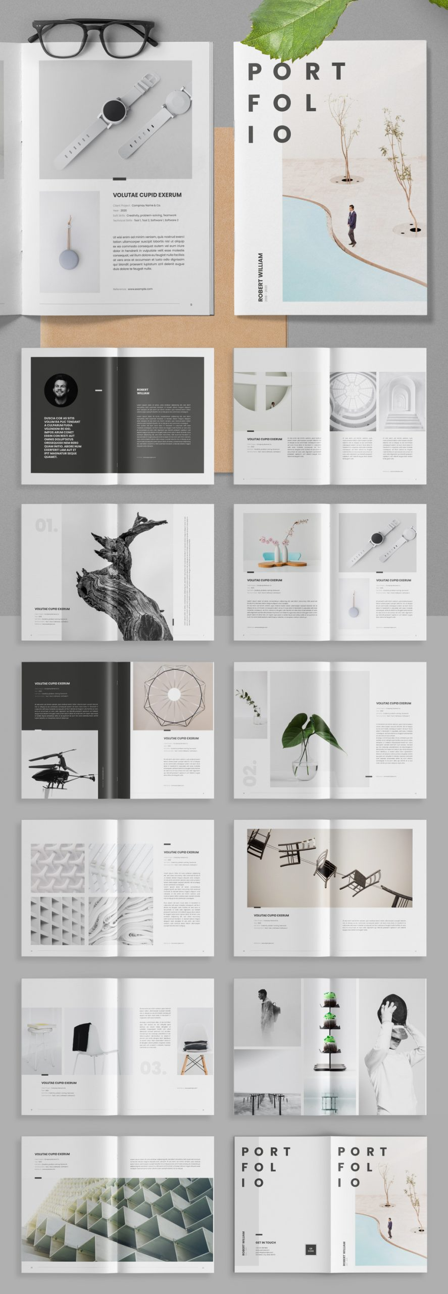 Portfolio Adobe InDesign Template