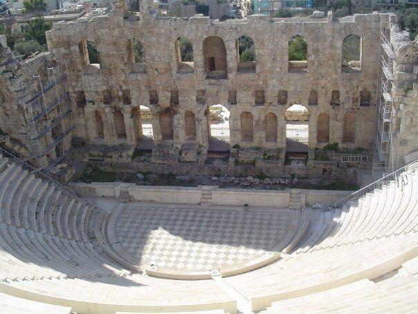 Athènes - Odéon d'Hérode Atticus