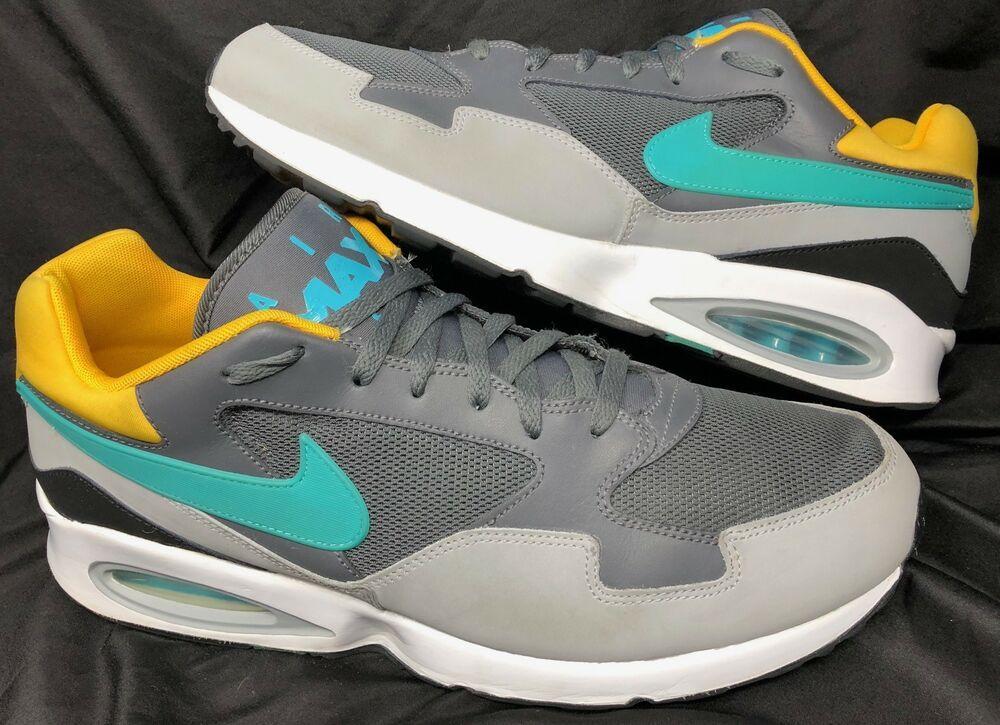 lowest price 5fe1f 79b6e Nike Air Max ST Dark Grey Dusty Cactus-Wolf Grey International 652976 003  Sz 14  Nike  AthleticSneakers