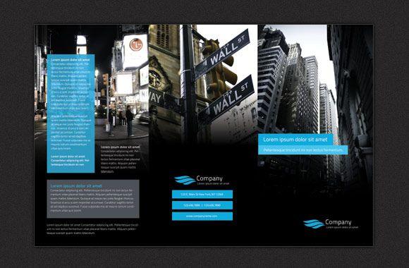 Modern Tr-Fold Brochure Free Brochure Templates Pinterest - modern brochure design