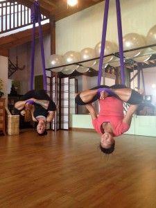 aerial yoga on maui body in balance  yoga aerial yoga