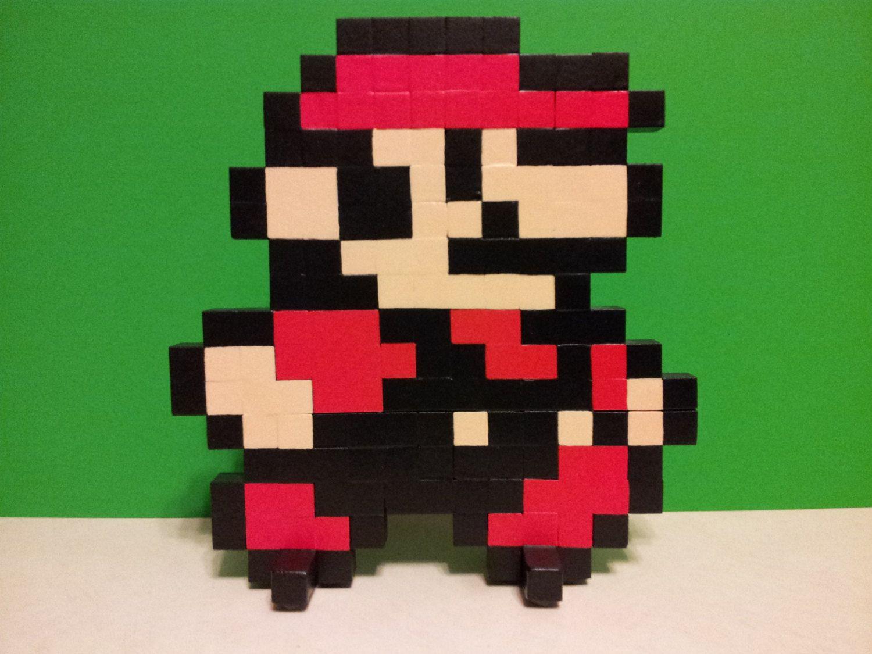 Art Super Mario Bros 3 Mario Pixel Art