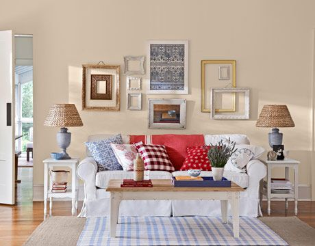 Country Living Room Designs Unique Allamerican Country  Empty Frames Living Rooms And Country Inspiration
