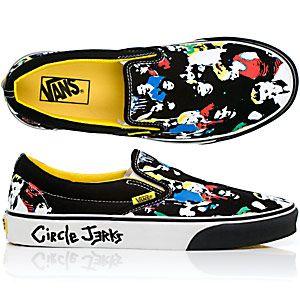 Circle Jerks' Vans