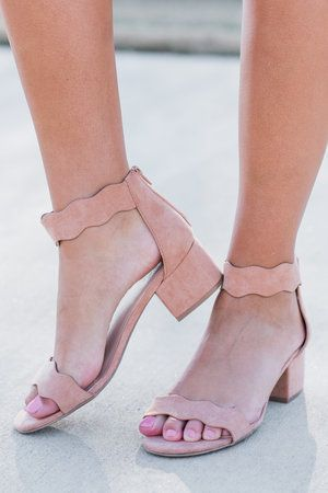8e3d5c668b8 Smooth Curves Heels, Blush | shoes in 2019 | Homecoming shoes, Short ...