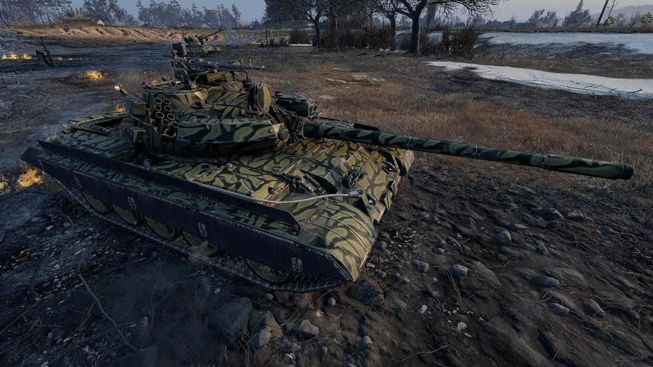 World of Tanks 2.0 MODERN TANKS IN ACTION (skin for T 55A