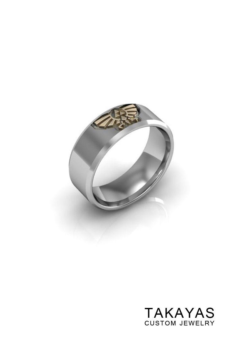 Legend Of Zelda Wedding Ring Collection Takayas Custom Jewelry Wedding Ring Collections Zelda Wedding Ring Collections