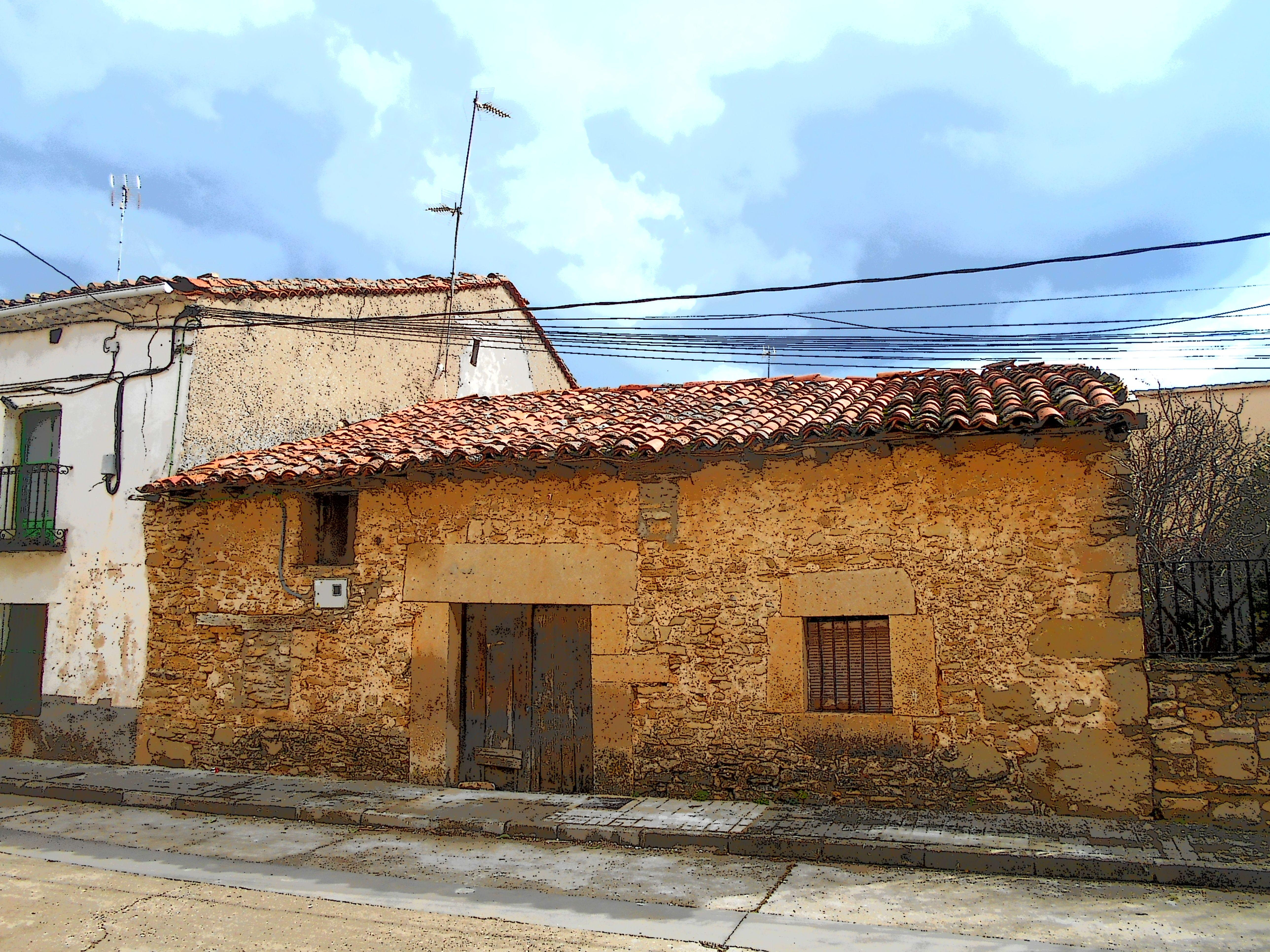 Tamajón. Arquitectura popular
