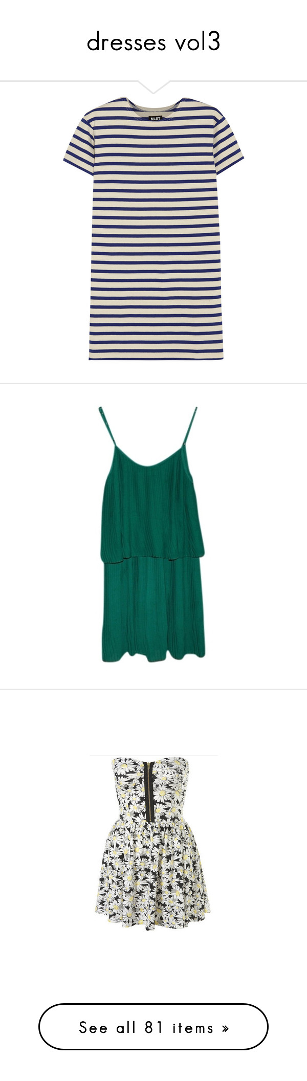 """""""dresses vol3"""" by annuroses ❤ liked on Polyvore featuring dresses, tops, vestidos, robe, short white dresses, mini dress, short loose dress, loose mini dress, sporty dresses and blue dress"""