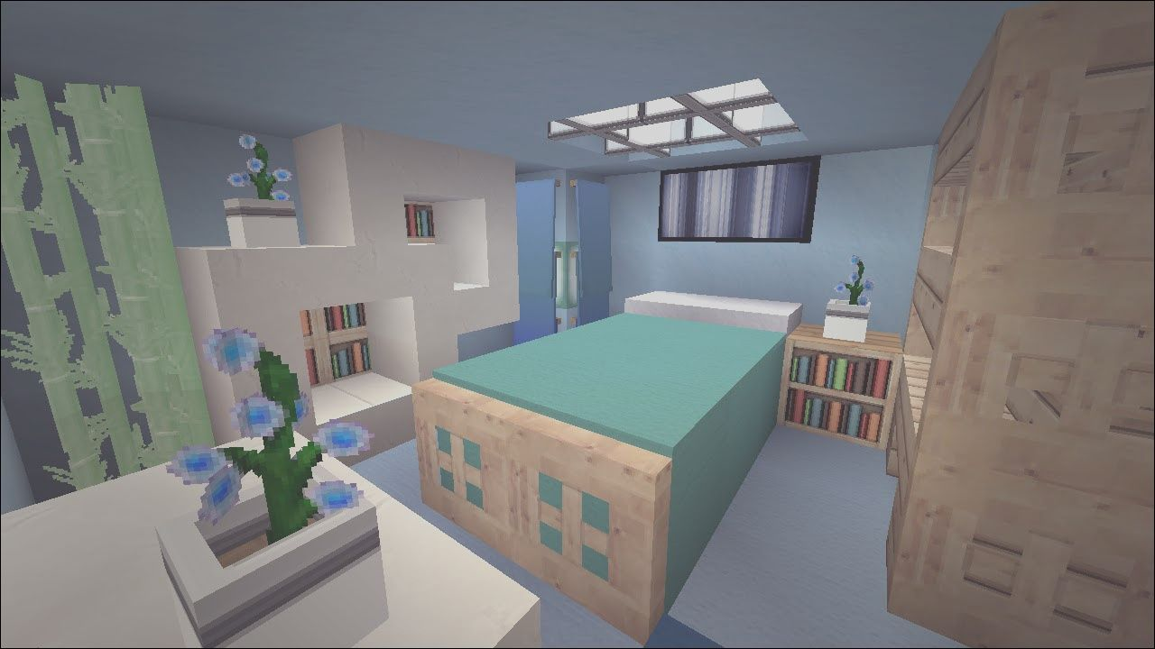 12 Petite Cool Apartment Bedroom Ideas Photography In 2020 Minecraft Bedroom Modern Bedroom Design Minecraft Modern