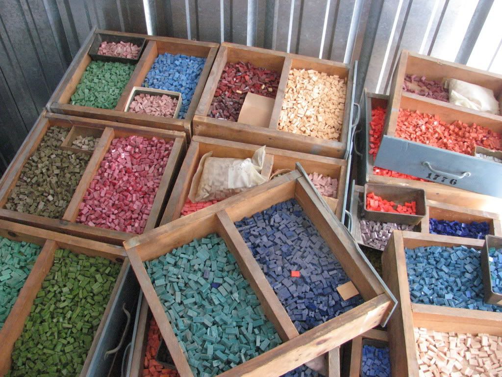Beginner mosaic projects frames mosaic supplies tunisian