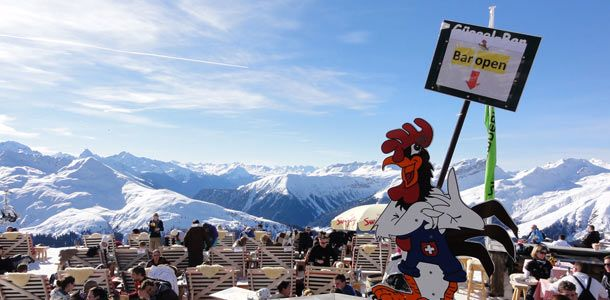 Itävalta lukeutuu Euroopan parhaisiin after skii -kohteisiin.