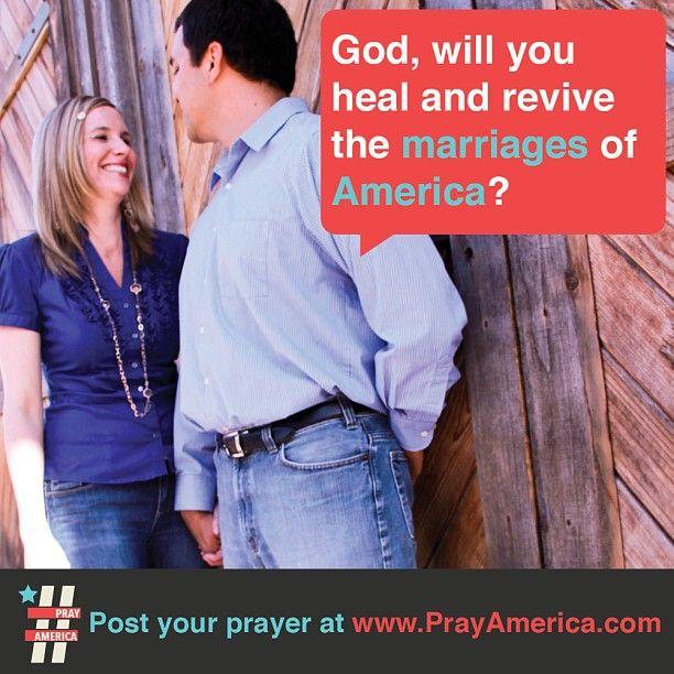 Prayer for healthy marriages!  #pray #bible #prayer #inspiration #quote #jesus #typography #design #america  www.facebook.com/weprayamerica  www.youtube.com/newlifeamerica  www.instagram.com/prayamerica