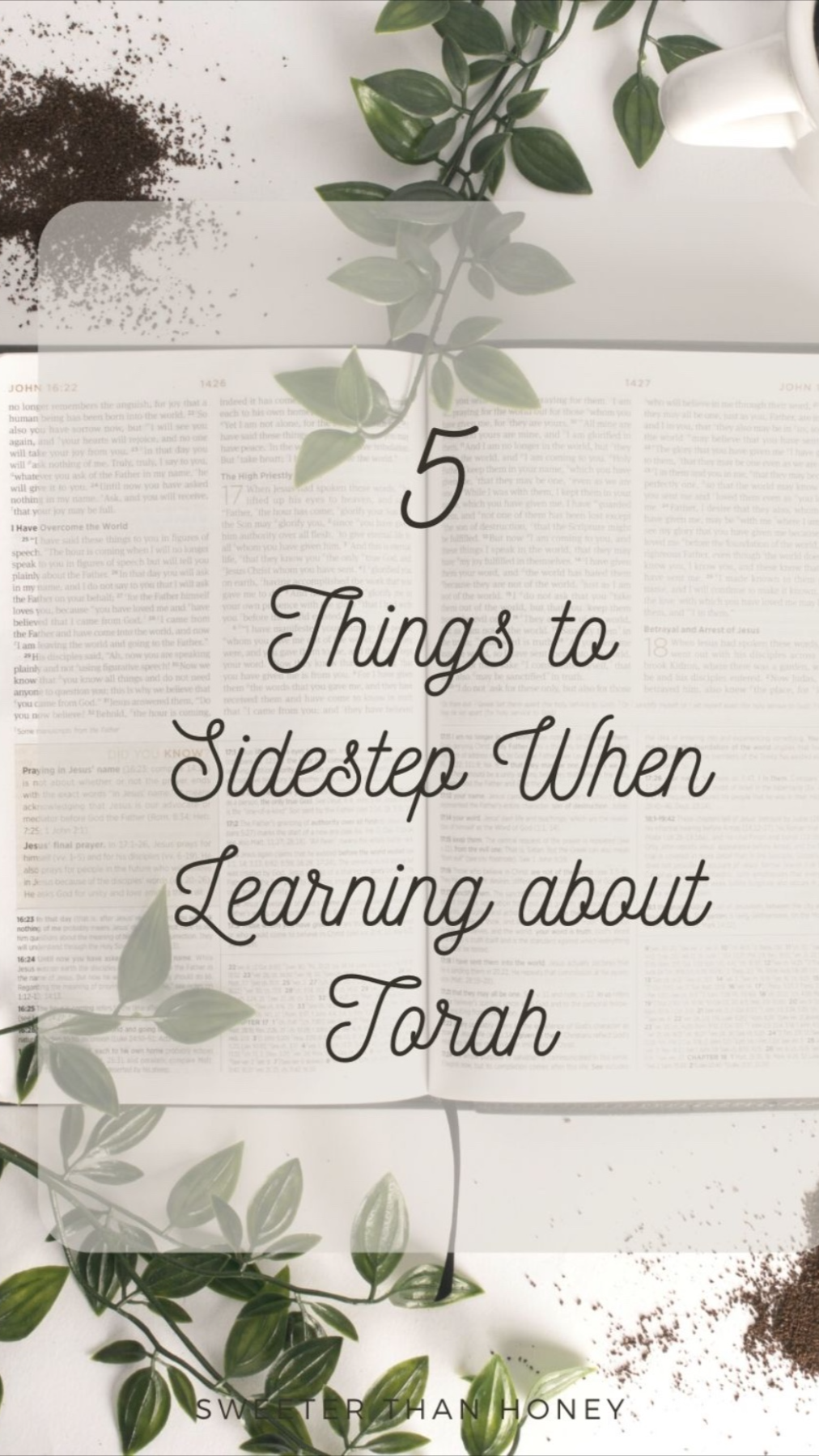 5 things to sidestep when Learning about Torah