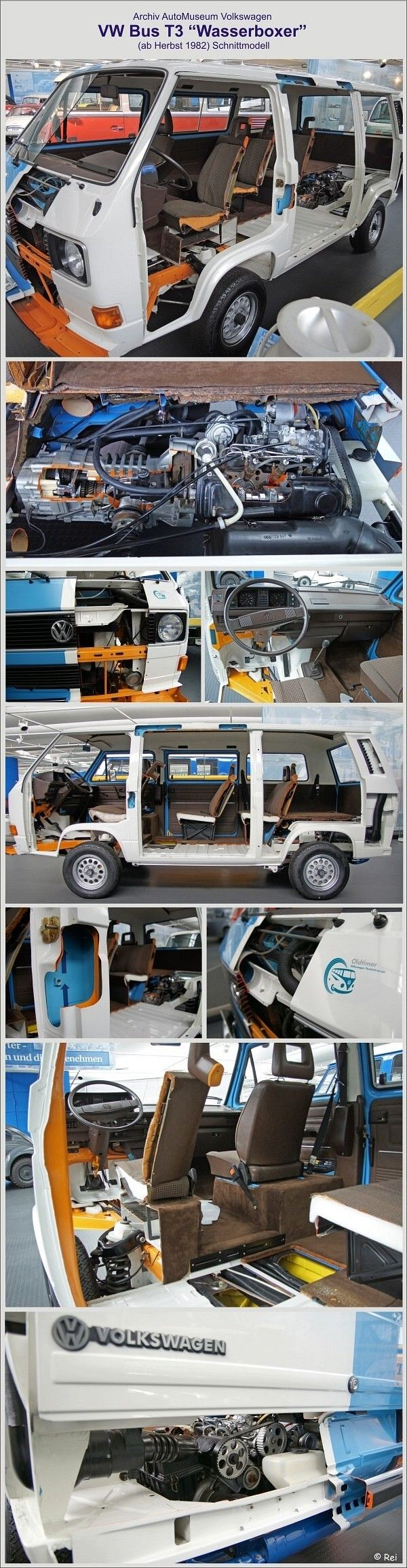 VW T3 Schnittmodell #campеr