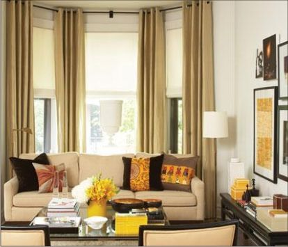 bay-window-curtain-pictures - Long curtains My Dream House Ideas
