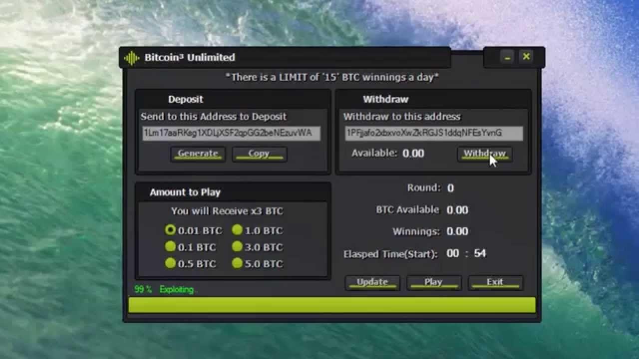 Bitcoin Bot Generator