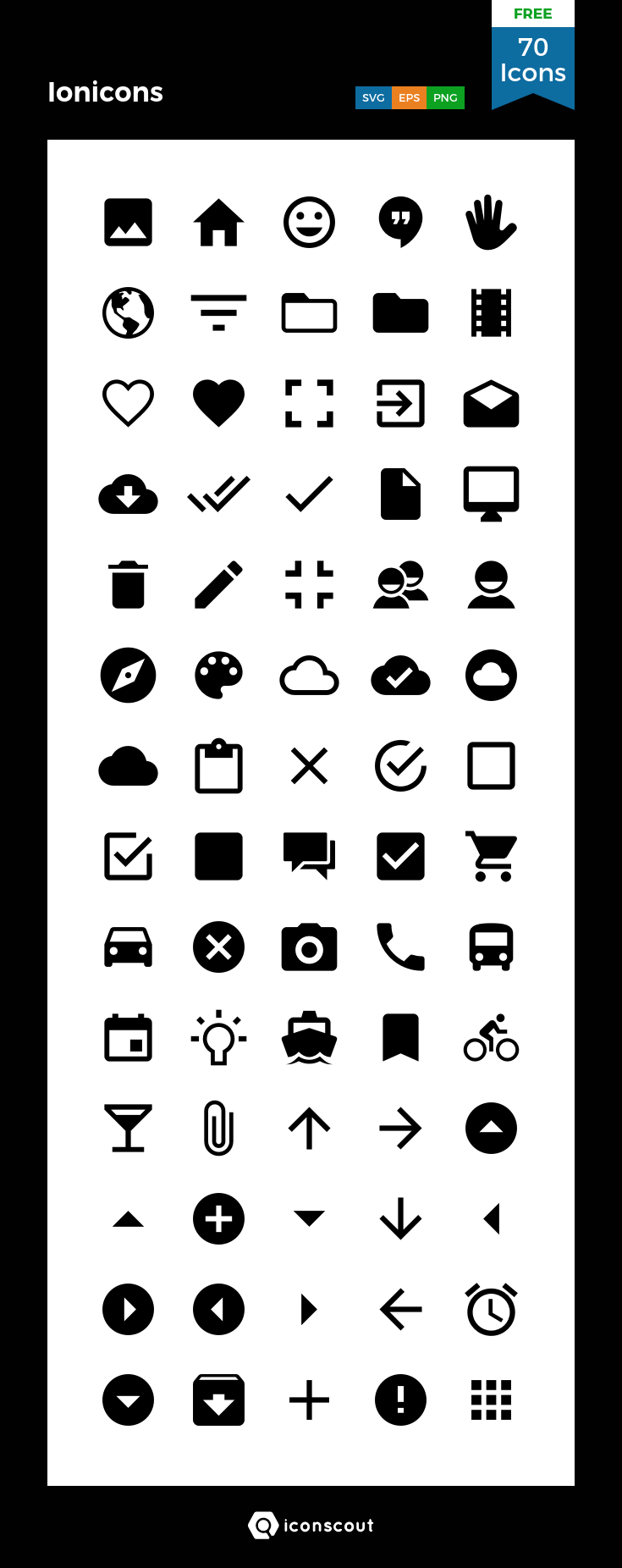 Download Download Ionicons Icon pack - Available in SVG, PNG, EPS ...