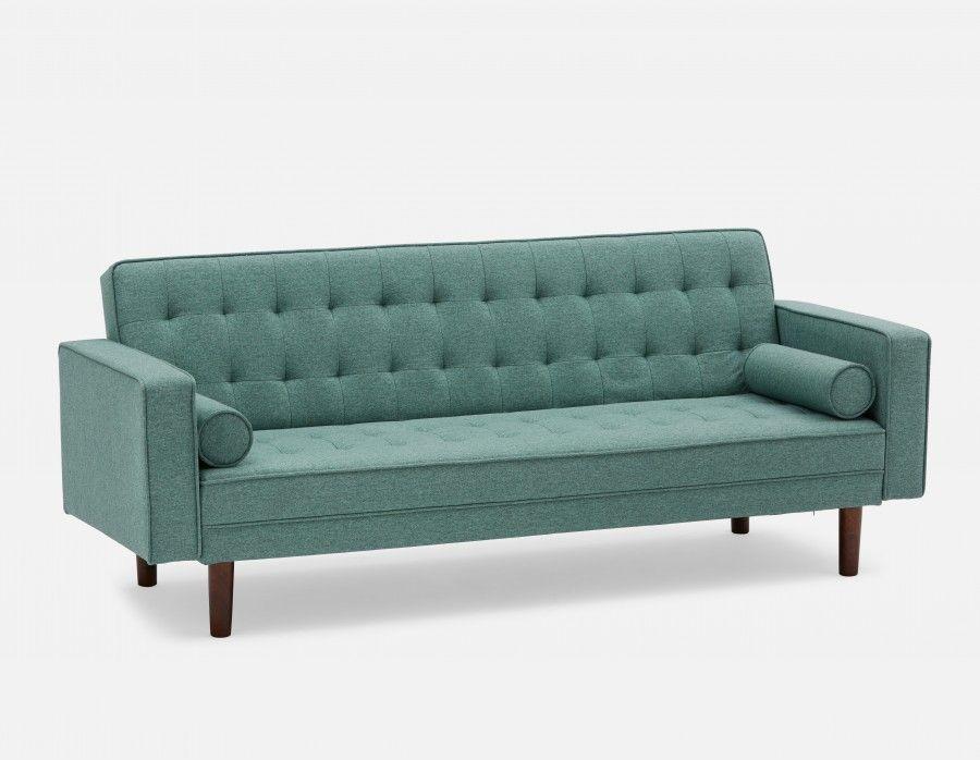399 Jean Tufted Sofa Bed Seafoam Green Structube Modern Sofa Bed Tufted Sofa Sofa