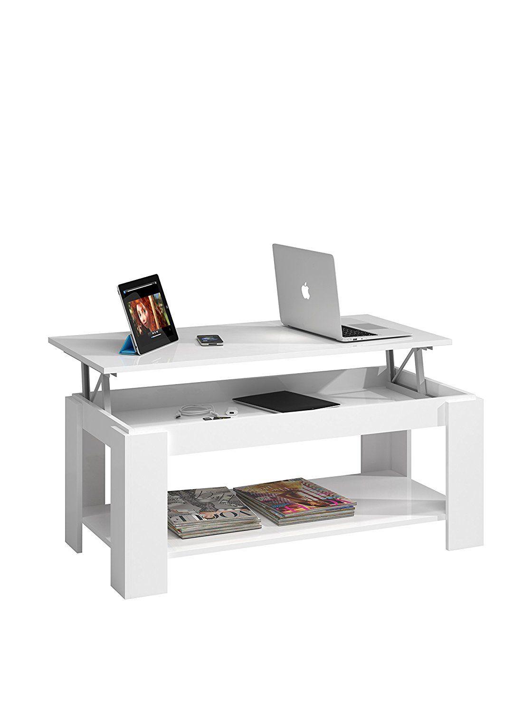 G/én/érique Kendra Coffee Table Grey Tray Seat