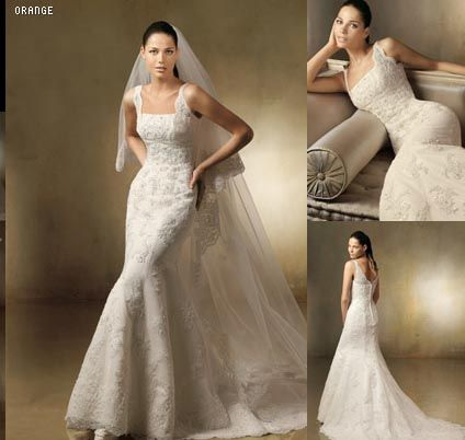 Pronovias Orange...anyone? : wedding pronovias dress lace Dress ...