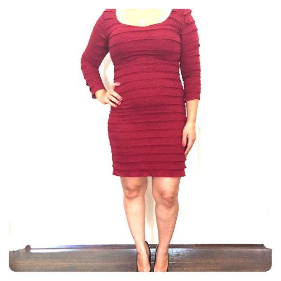 Cocktail dress Deep red cocktail dress. Max Studio Dresses