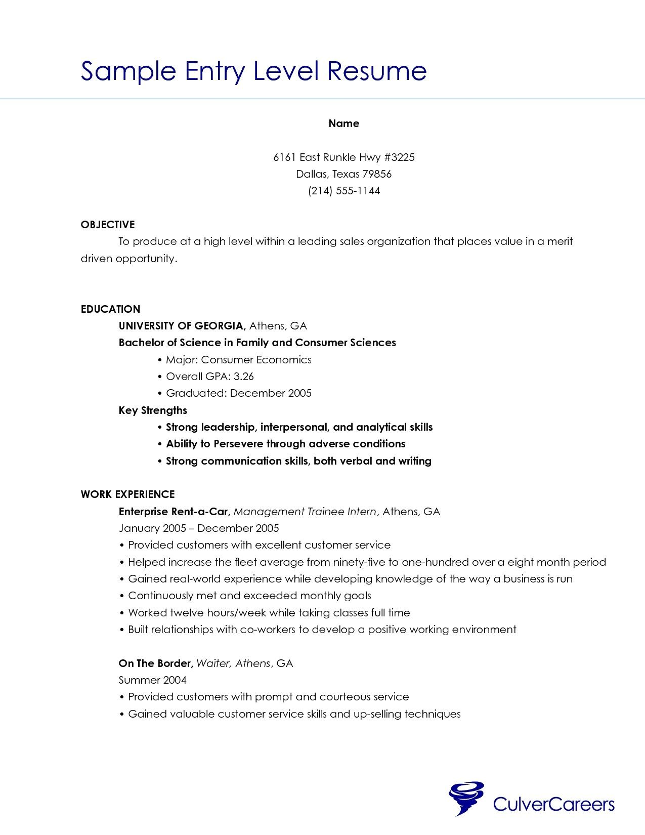 Resume Templates Beginner #beginner #resume #ResumeTemplates ...