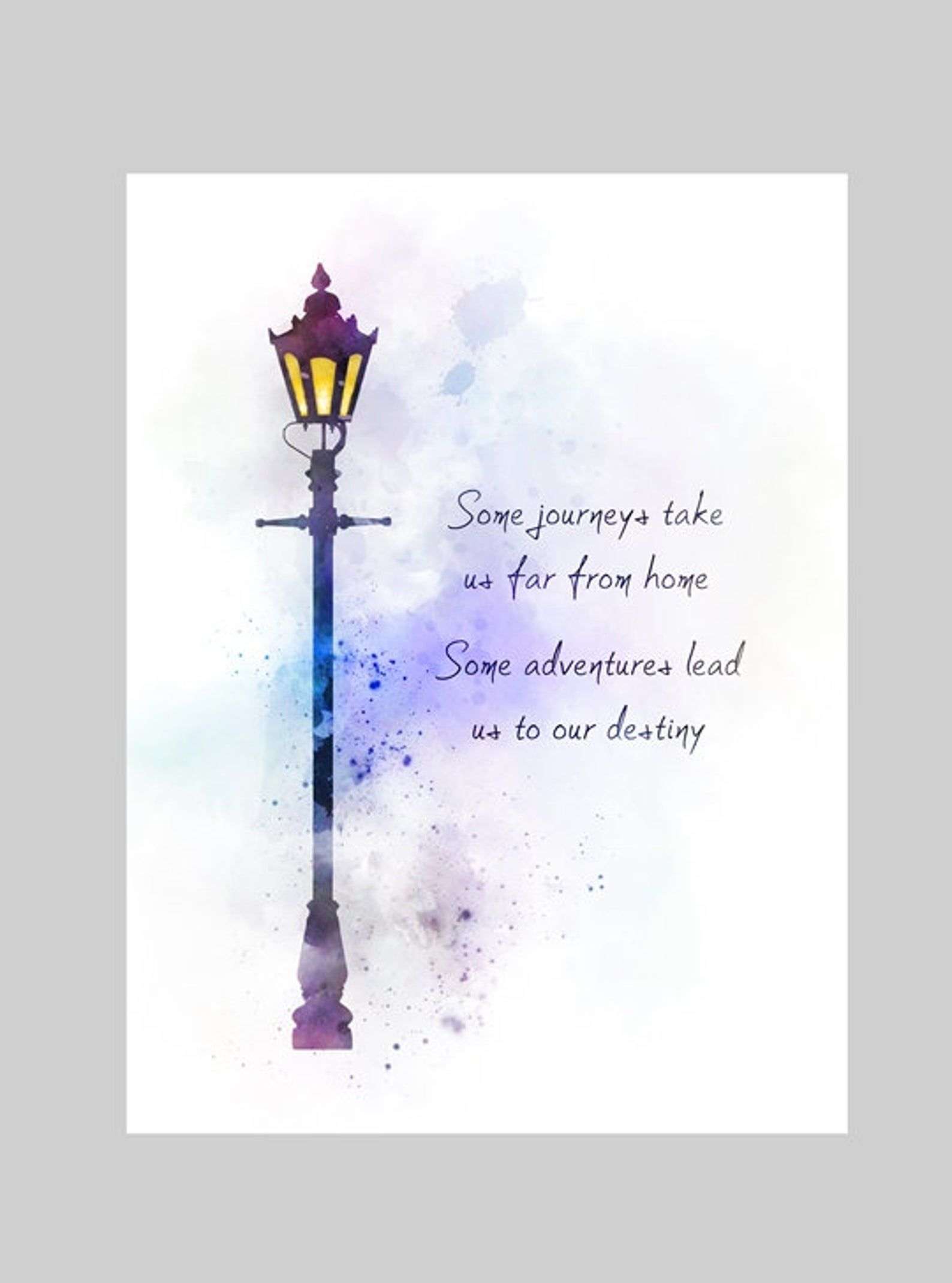 Disney The Nightmare Before Christmas Quote Art A4 Print Unframed Gift Home