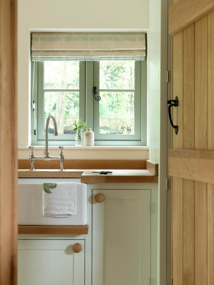 Utility Border Oak In Love With Those Window Handles And