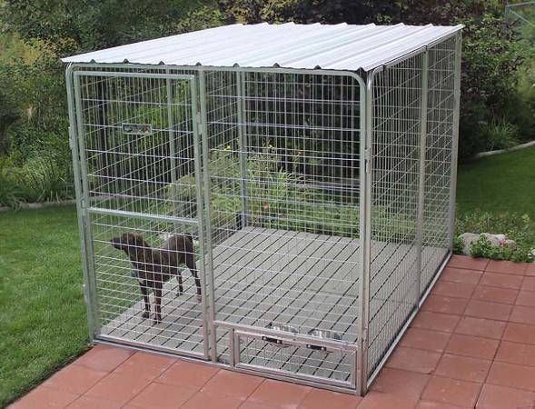 Sold On Craigslist Aug 2014 Dog Runs And Kennel Covers 495 Dog Kennel Dog Kennel Roof Metal Dog Kennel